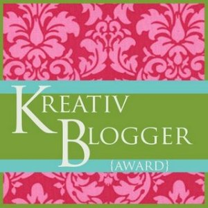 Kreativ Blogger Award.  What?